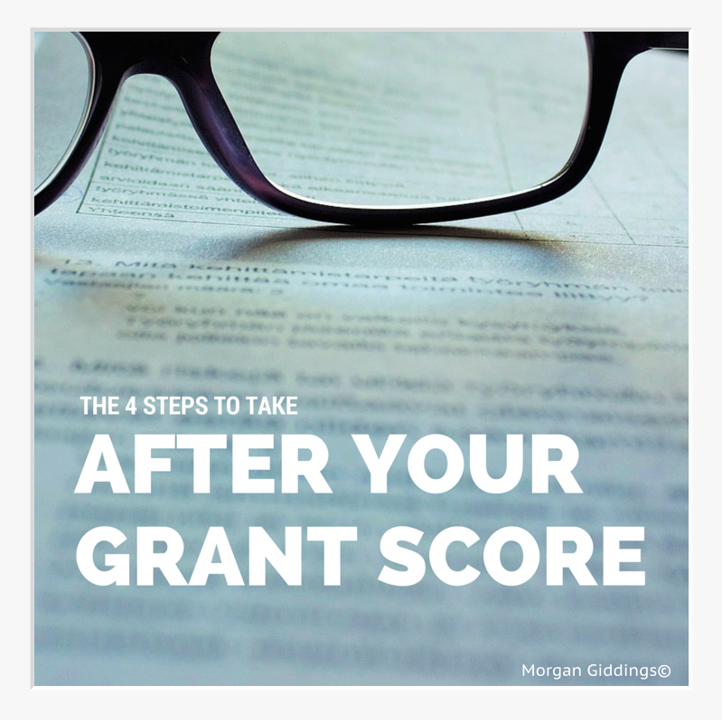 4 Steps After Your Grant Is Scored